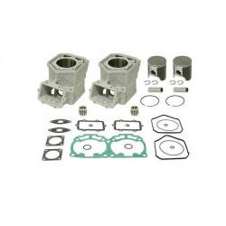 Комплект блока цилиндров с поршнями и прокладками для Ski-Doo 600HO E-TEC 420889181 / 420889185 / 420889187 / 420892386 / 420892388 / 420623262 / 420623263 SM-09602K